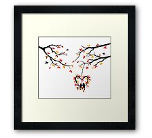cute birds #2 Framed Print