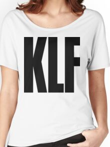 KLF Logo (Black) Women's Relaxed Fit T-Shirt