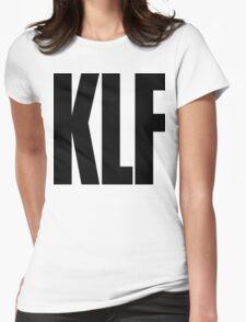 KLF Logo (Black) Womens Fitted T-Shirt