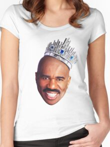 Steve Harvey's Crown Women's Fitted Scoop T-Shirt