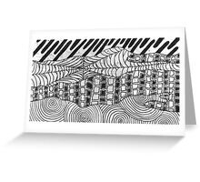Spider Sky Greeting Card