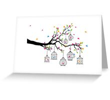 cute birds #3 Greeting Card