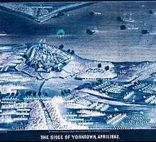 Civil War Maps 1804 The siege of Yorktown April 1862 Inverted by wetdryvac