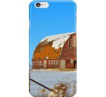 Royal Barn Winter iPhone Case/Skin
