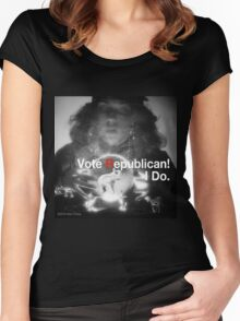 Vote Republican! 4 Women's Fitted Scoop T-Shirt