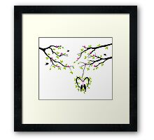 cute birds #4 Framed Print