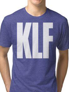 KLF Logo (White) Tri-blend T-Shirt