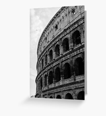 Rome - The Colosseum  Greeting Card