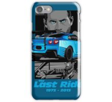 Paul Walker 02 iPhone Case/Skin