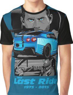 Paul Walker 02 Graphic T-Shirt
