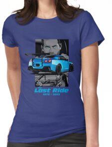 Paul Walker 02 Womens Fitted T-Shirt