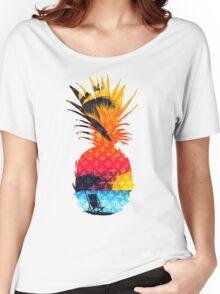 Pineapple Summer Beach Women's Relaxed Fit T-Shirt