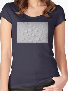Droplets Women's Fitted Scoop T-Shirt