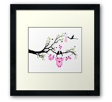 cute birds #6 Framed Print
