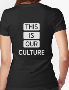 Fall Out Boy THIS IS OUR CULTURE Womens Fitted T-Shirt