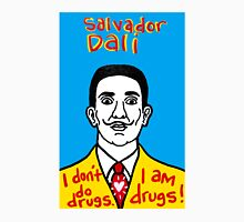 Salvador Dali Pop Folk Art Unisex T-Shirt