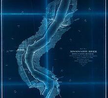Civil War Maps 1168 Mississippi River 02 Inverted by wetdryvac