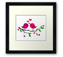 cute birds #7 Framed Print