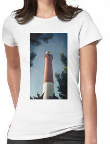Barnegat Sunset II Womens Fitted T-Shirt