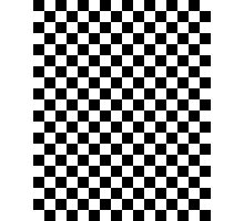 Ska Checkerboard Photographic Print