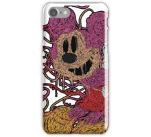 Melted Mickey (Pink) iPhone Case/Skin