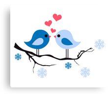 cute birds #8 Canvas Print