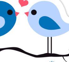 cute birds #8 Sticker