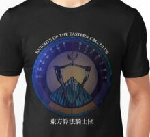 Knights of the Eastern Calculus - Serial Experiments Lain [dark] Unisex T-Shirt
