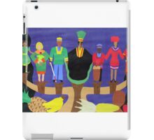 The Nguzo Saba  (7 Principles of Kwanzza) iPad Case/Skin