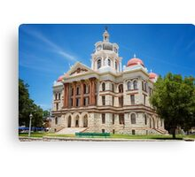 Coryell County Courthouse Canvas Print