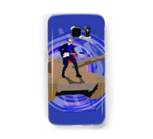 Doctor Who Riding a Tank and Playing Guitar Samsung Galaxy Case/Skin