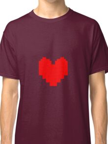 Undertale - Red Soul Classic T-Shirt