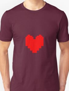 Undertale - Red Soul Unisex T-Shirt