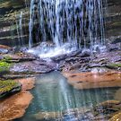 Polly Branch Falls by Rayven Collins