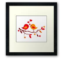 cute birds #10 Framed Print