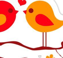 cute birds #10 Sticker