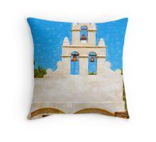Mission San Juan Capistrano  Throw Pillow