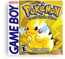Pokemon Yellow Canvas Print