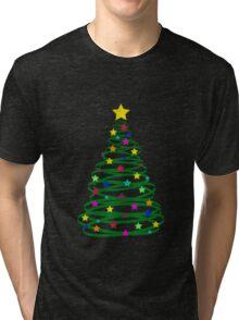 christmas tree Tri-blend T-Shirt