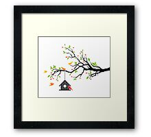 cute birds #12 Framed Print