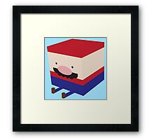 Blockio Framed Print