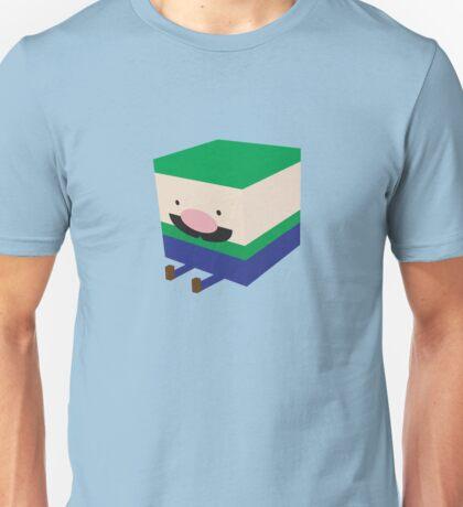 Green Blockio Unisex T-Shirt