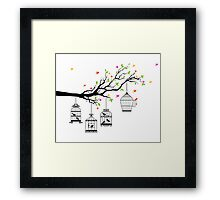cute birds #13 Framed Print