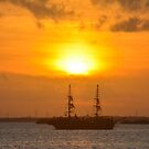 Cancun Sunset by Imagery