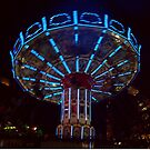 Blue Carousel by biddumy