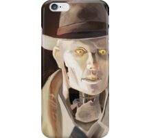 Synth Detective iPhone Case/Skin