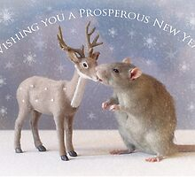 Wishing you a prosperous new year! by Ellen van Deelen
