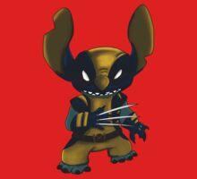 Stitch Wolverine One Piece - Short Sleeve