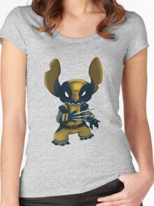 Stitch Wolverine Women's Fitted Scoop T-Shirt