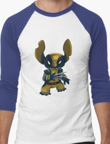 Stitch Wolverine Men's Baseball ¾ T-Shirt
